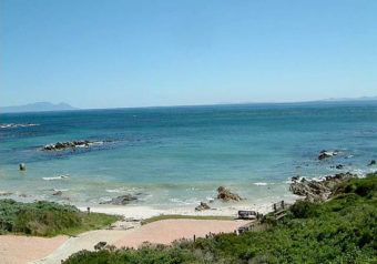 Panoramic ocean views over False Bay