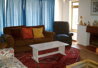 Lounge with TV and DSTV connection