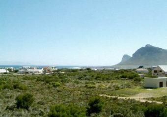 Ocean view over False Bay