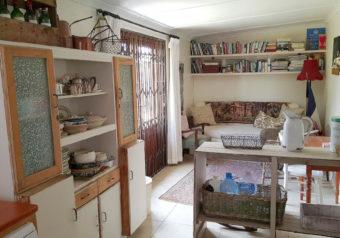 Sunny reading corner