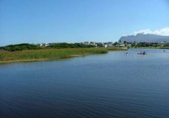 View over Kleinmond Lagoon
