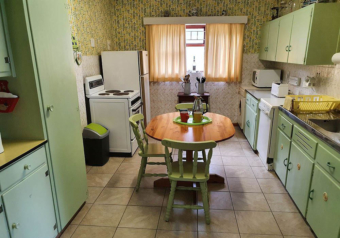 Well equipped old style kitchen