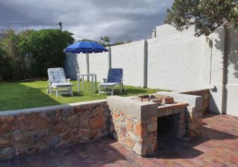 Outside braai area and garden furniture