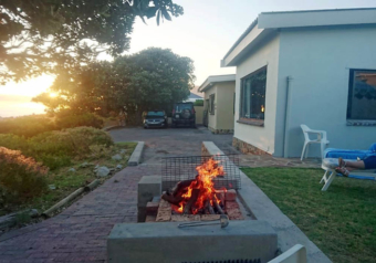 Braai area with magnificent sea view